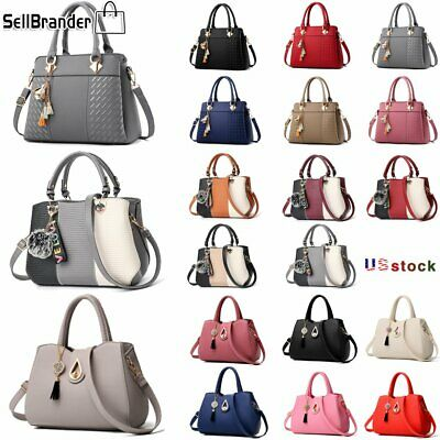 Women Lady Handbag Shoulder Bags Tote Purse Leather Messenger Tassel Satchel Bag