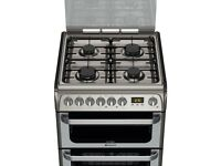 Hotpoint Ultima HUD61G S Cooker - Graphite for Sale