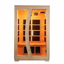 Luxo 'Valo' 2 Person Carbon Fibre Infrared Sauna Seven Hills Blacktown Area Preview