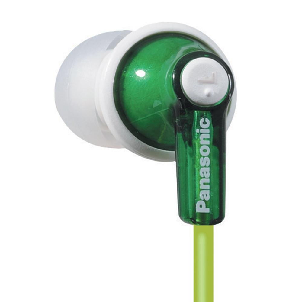 Panasonic RP-HJE120-G / RPHJE120G In-Ear Earbud Headphones,