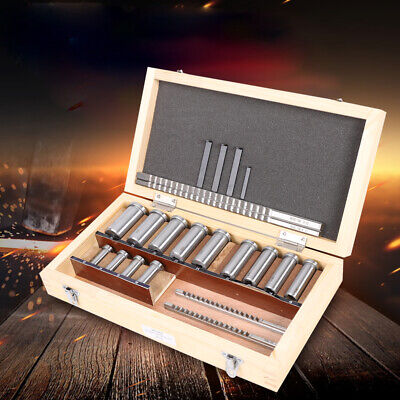 Keyway Broach Kit For Lathe Collared Bushing Shim Set Metric Size Metalworking