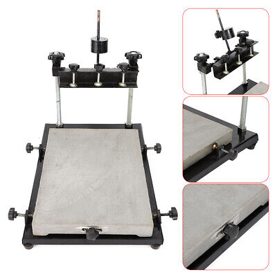 440x320mm Manual Solder Paste Printer Pcb Smt Stencil Printer Machine Silver Usa