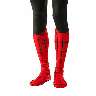 Adult Spider-Man Boot Tops Costume Accessories](Spider Costume Accessories)