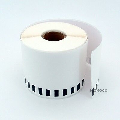 6 Rolls Of Dk-2205 Brother Compatible Continuous Label Ql-500 Ql-700 Ql-710w