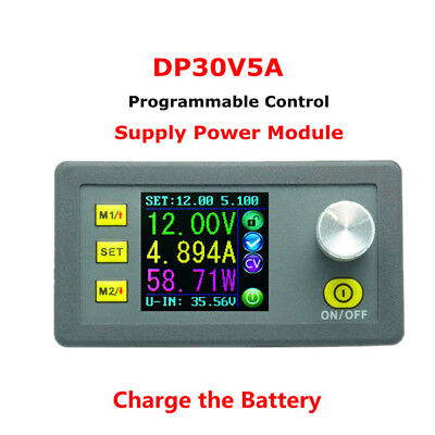 Dp30v 5a Constant Voltagecurrent Step-down Programmable Power Supply Module New