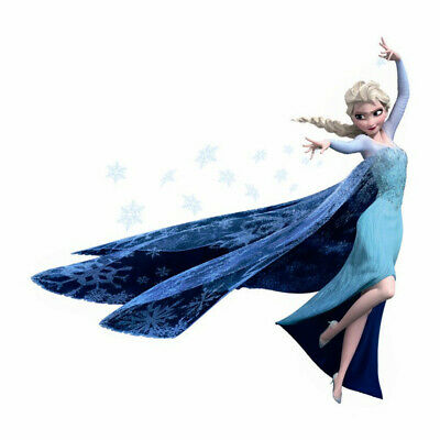 QUEEN Elsa Frozen Princess Removable DIY Wall Stickers Kids Home Decor Decal](Elsa Stickers)