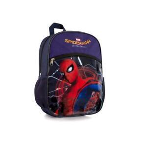 Marvel Spiderman Home Coming Kids Backpack Boys School Bag 15 Inch