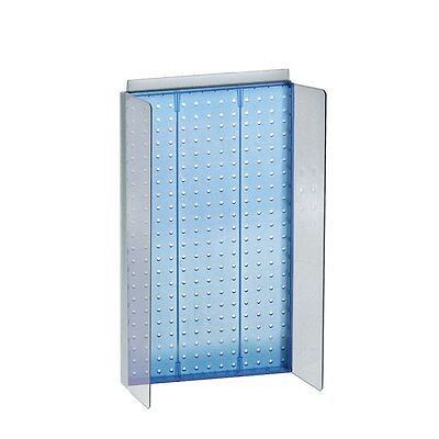 Styrene Pegboard Powerwing Display In Blue 13.5w X 22h Inches
