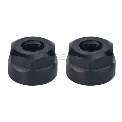 ER11 A type Collet Clamping Nut For CNC Milling Collet Chuck Holder Lathe 2pcs