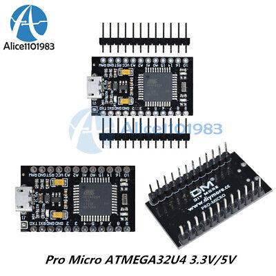 Pro Micro Atmega32u4 3.3v5v 816mhz Usb Controller Board Bootloader For Arduino