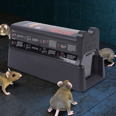 Electronic Mouse Trap Mice Rat Killer Pest Victor Control Electric Zapper Rodent