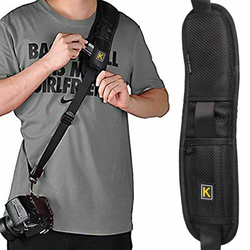 Black Rapid Camera Shoulder Belt Sling Neck Strap for DSLR Digital SLR Camera