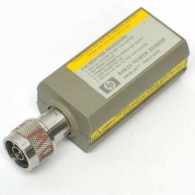 Hp 8482a Rf Power Sensor -30db To 20db 1uw-100mw 100khz To 4.2ghz N Type