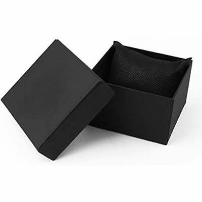 Single Watch Gift Boxes 12 Pack Jewelry Bangle Bracelet For Men And Women-black