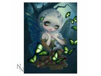 Absinthe Butterflies 3D Picture 28 x 38xcm - Brand New Still in Packaging - Nemesis Now