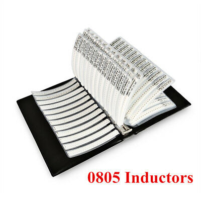 0805 Smd Inductors Kit 1nh-100uf 47 Value Assortment Sample Book 2350 Pcs
