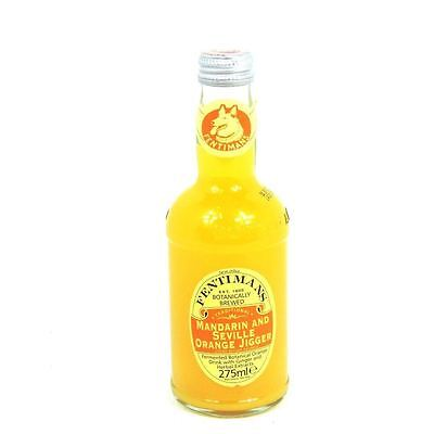 Fentimans Mandarin & Seville Orange Jigger 275ml X 12