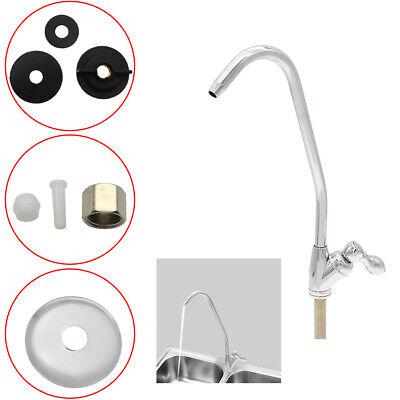 Best Chrome Drinking Water Filter Faucet Finish Reverse Osmosis Sink Kitchen (Best Kitchen Sink Taps)