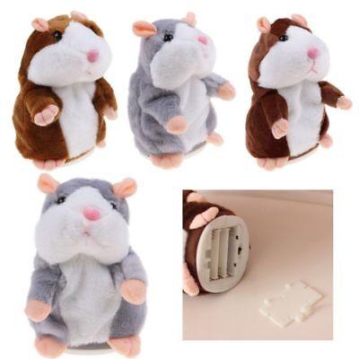 Baby S Lovely Electric Talking Plush Cartoon Hamster Interesting Kids Toys Gift