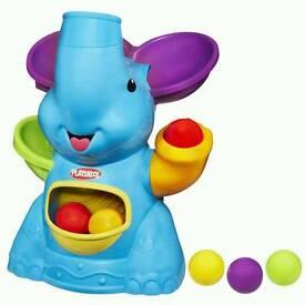 Playskool elefun ball blower toy
