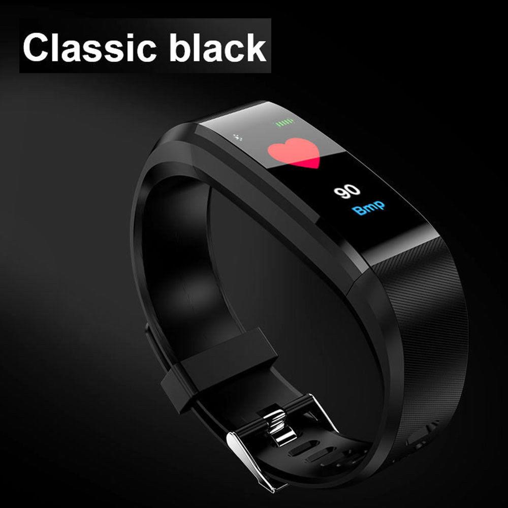 smart watch fitness tracker heart rate monitor