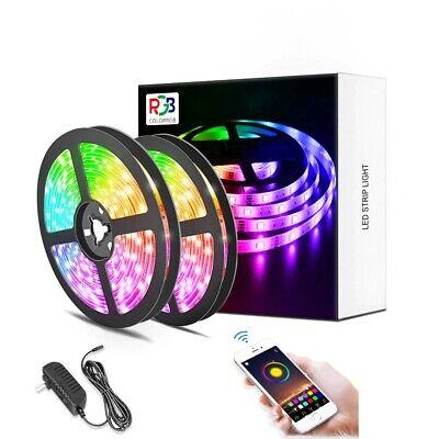 Luces Led 5M, Cinta Multicolor por APP control