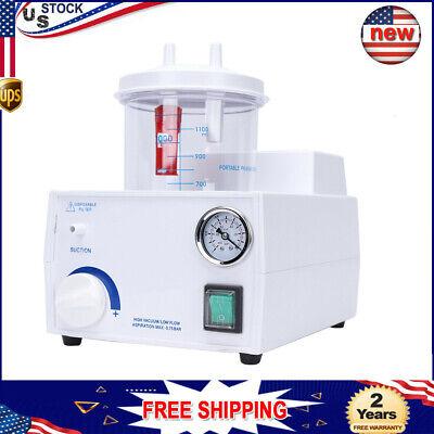 Low Noise Medical Aspirator 1000ml Emergency Vacuum Phlegm Suction Machine 110v