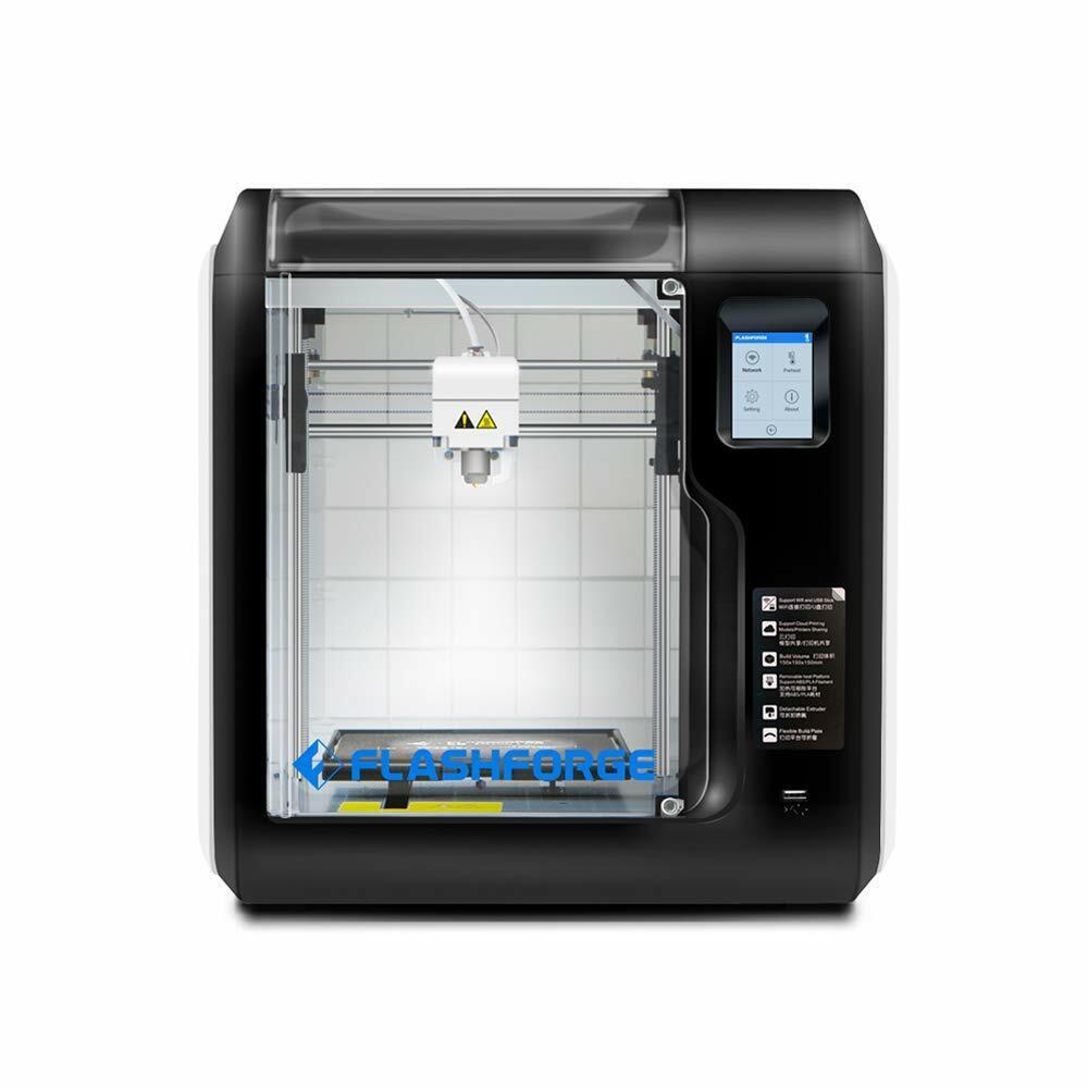Flashforge Adventurer 3C 3D Printers Auto Leveling Machine Fast Cloud Printing
