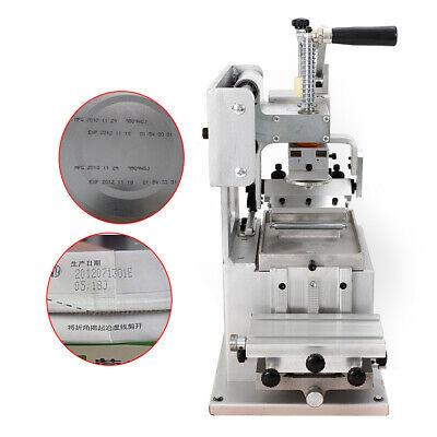 8080mm Manual Logo Pad Printing Machine Single-color Diy Sign Pad Printer Label