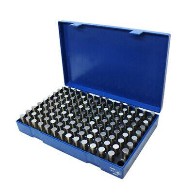 125 Pc M3 .501-.625 Steel Plug Pin Gage Set Minus Pin Gauges Metal Gage Gauges