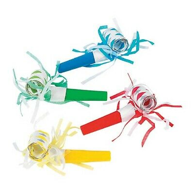 Party Time Noisemakers Musical Blowouts Happy New Year Party Supply Set 12/PK