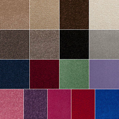 CARPET FELT BACK TWIST PILE BEDROOM LOUNGE STAIRS QUALITY ROLL CHEAP HARDWEARING