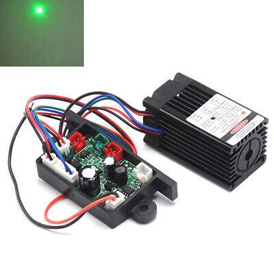100mw 532nm Green Laser Dot Module Wfan Cooling Ttl 0-30khz Long Time Working