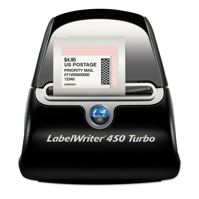 DYMO LabelWriter 450 Turbo Printer (71 Labels Per Minute) 1752265 New
