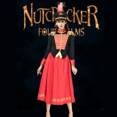 Nutcracker Halloween Costume (The Nutcracker And The Four Realms Halloween Cosplay Costume Women Uniform)