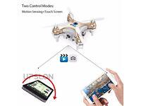 cheerson cx-10w wifi with camera FPV altitude hold gyro mini drone
