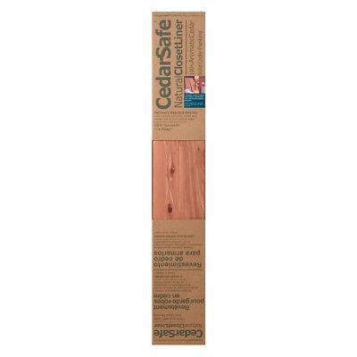 - CedarSafe Cedar Planks Closet Liner - Carton of 4 Boxes