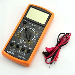 DT9205A-Digital-Multimeter-LCD-AC-DC-Ammeter-Resistance-Capacitance
