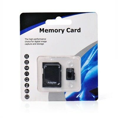 128 GB micro SD SDHC Burst TF Memory Card Class 10 Micro SD Free SD Adapter