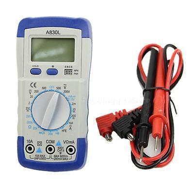A830l Handheld Digital Multimeter Ammeter Volt Megohmmeter Ohmmeter Backlight