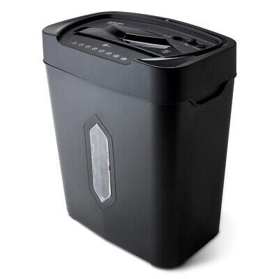 5.2 Gallon Wastebasket Heavy Duty Paper Shredder 12 Sheet Cross Cut Ultra Quiet