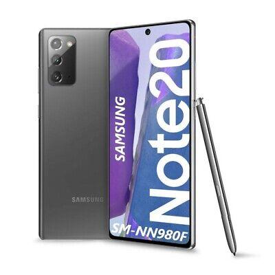 """Samsung Galaxy NOTE 20 6.7"""" 8+256GB NUOVO Dual Sim MYSTIC GRAY SM-N980F"""