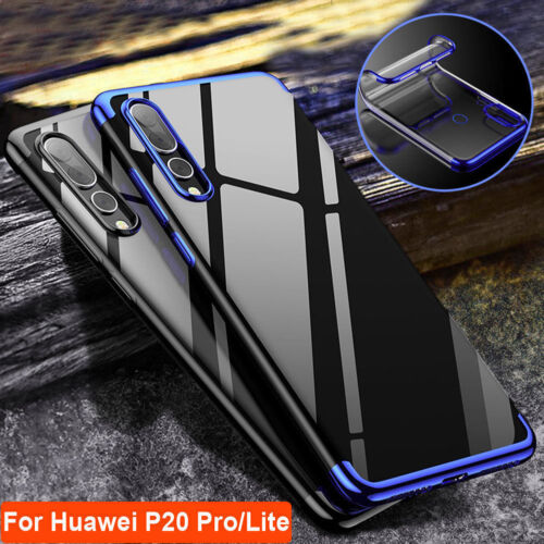Soft TPU Ultra Slim Protective Back Case Cover For Huawei P20 lite P20 Pro