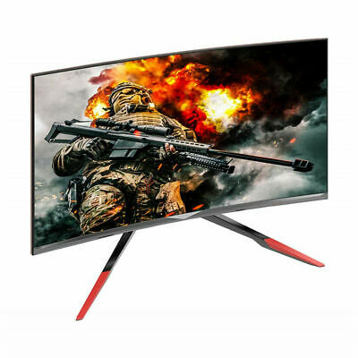"""Open Box VIOTEK GN32DR 32"""" Curved Pro Gaming Monitor Adjustable Stand 144Hz HDMI"""