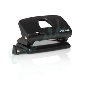Compact 2 Hole Desk Paper Punch Perforator 12 SHEETS Same Day Dispatch
