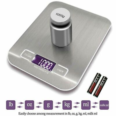 Digital 1g-10000g Kitchen Scales Electronic Balance LCD Food Weight Postal Scale