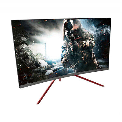 Open Box VIOTEK GN27C2 27'' Curved Gaming Monitor 144Hz 1080p FPS/RTS Optimized