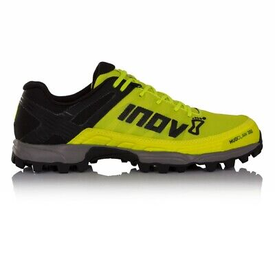 Inov8 Mudclaw 300 Unisex Off Road Trail Running Shoes, Yellow/Black - 4 UK