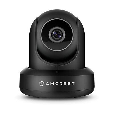 Amcrest 1080P ProHD Black IP Camera Security Camera Surveillance Camera Wireless