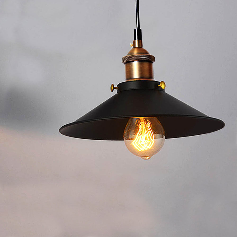 industrial retro vintage pendant lamp ceiling light. Black Bedroom Furniture Sets. Home Design Ideas